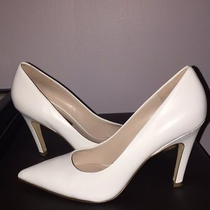 Nine West White Pumps/Heels